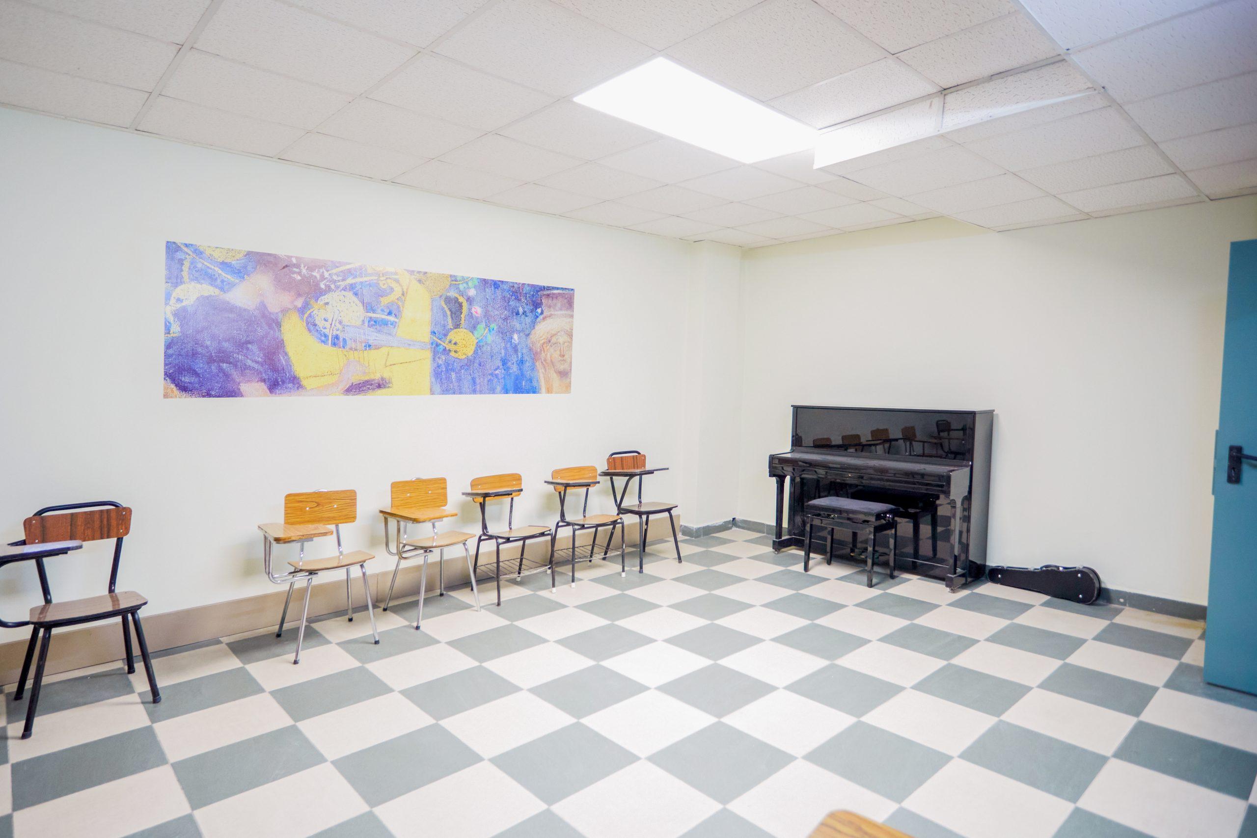 Aula Mediana - Alquiler de Espacios - Tempo Musical