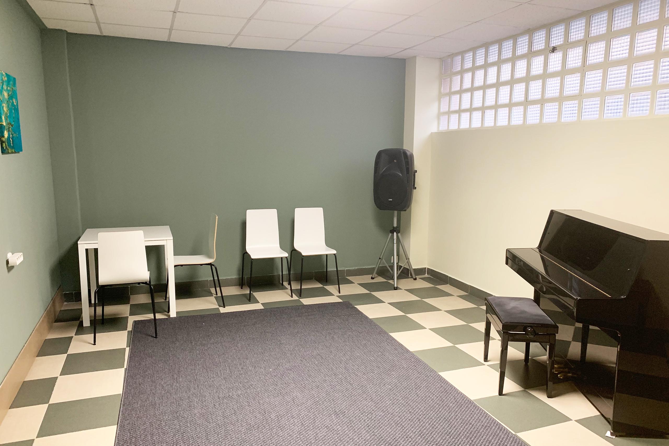 Alquiler de espacios - Aula MedianaTempo Musical